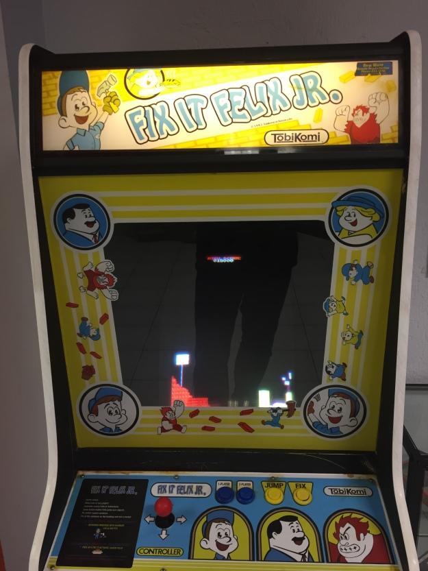 """La màquina arcade que dona nom a la pel·licula """"Rompe Ralph"""""""