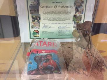 El joc d'E.T que es va enterrar al desert pel seu fracàs comercial